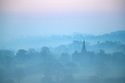 11/12/18<br /> <br /> The spire of St James The Great Church, Idridgehay emerges through the early morning mist near Wirksworth in the Derbyshire Dales.<br /> <br /> All Rights Reserved, F Stop Press Ltd. (0)1335 344240 +44 (0)7765 242650  www.fstoppress.com rod@fstoppress.com