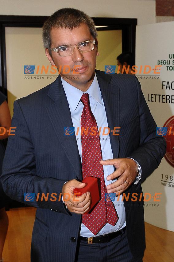 Alessandro COCHI.Roma 5/9/2011 Universita' Tor Vergata.Premio Etica e Sport.Foto Insidefoto Andrea Staccioli