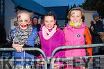 Pictured at the Halloween Festival in Knocknagoshel on Sunday night were Ellie Ava Liston, Casey McCormack and Lilly Harte