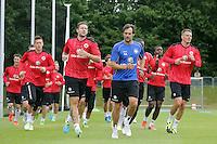 26.06.2013: Eintracht Frankfurt Trainingsauftakt