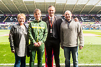 Sunday April 02 2017 <br /> Pictured:  Youth Signings<br /> Re: Premier League match between Swansea City and Middlesbrough at The Liberty Stadium, Swansea, Wales, UK. SUnday 02 April 2017