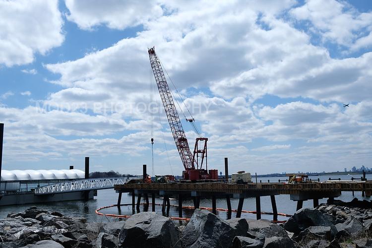 Clason Point April Construction