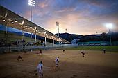 Partido de softball entre Colombia y Cuba en el nuevo Diamante de Softball durante los Juegos Mundiales 2013 en Cali, Colombia,  28 de julio 2013.<br /> Foto: Coldeportes/Archivolatino<br /> <br /> COPYRIGHT: Coldeportes. Imagen distribuida para difusi&radic;?n de los Juegos Mundiales 2013. Prohibida su venta y uso comercial.
