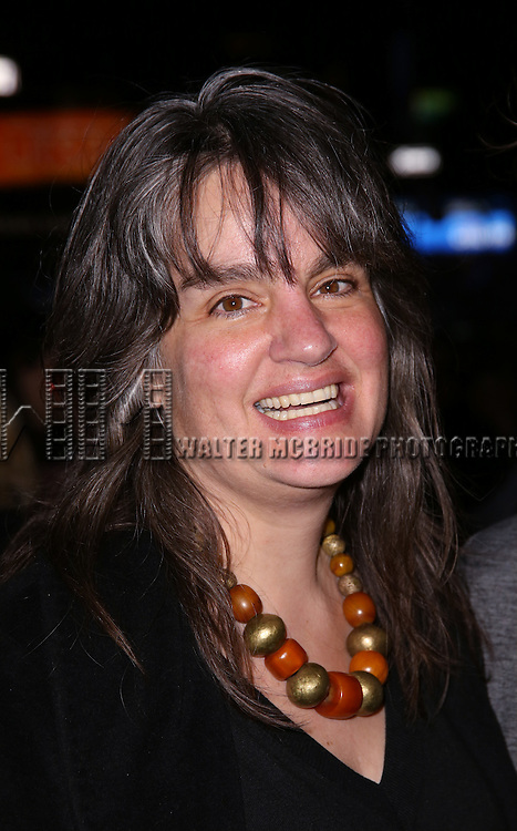Pam MacKinnon attends 'The Robber Bridegroom' Off-Broadway Opening Night performance at Laura Pels Theatre on March 13, 2016 in New York City.