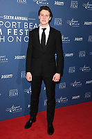 George Mackay<br /> arriving for the Newport Beach Film Festival UK Honours 2020, London.<br /> <br /> ©Ash Knotek  D3551 29/01/2020