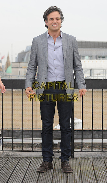 LONDON, ENGLAND - JULY 2: Mark Ruffalo attends Begin Again photocall at the Picturehouse Cinemas Head Office on July 2, 2014 in London, England<br /> CAP/BEL<br /> &copy;Tom Belcher/Capital Pictures