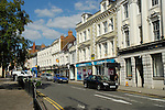 View of Bedford High Street, England