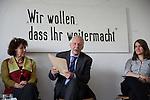 18.6.2014, Berlin. südost Europa Kultur e.V., Großbeerenstraße 88, Berlin-Kreuzberg. Podiumsdiskussion nlässlich des 20-jährigen Bestehens von Benevolencija Deutschland e.V.