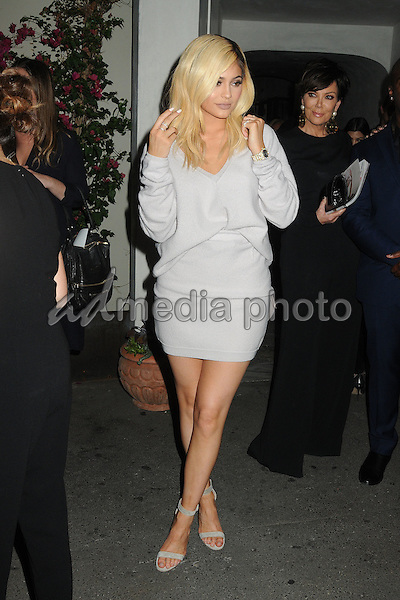 12 October 2015 - Hollywood, California - Kylie Jenner. Cosmopolitan 50th Birthday Celebration held at Ysabel. Photo Credit: Byron Purvis/AdMedia