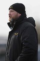Romford & Gidea Park head coach Jordan WighamTom Redfern of Woodford Romford & Gidea Park RFC vs Woodford RFC, London 2 North East Division Rugby Union at Crowlands on 9th March 2019