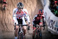 David Van der Poel (NED/Corendon Circus) in the infamous 'Pit'<br /> <br /> CX Superprestige Zonhoven (BEL) 2019<br /> Elite & U23 mens race