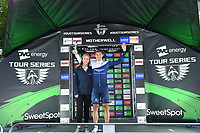 Picture by Allan McKenzie/SWpix.com - 15/05/2018 - Cycling - OVO Energy Tour Series Mens Race Round 2:Motherwell - Emils Liepins wins the Brother Fastest Lap award.