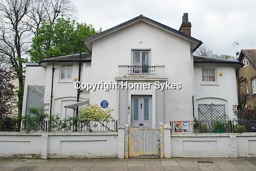 Turners House Twickenham Blue Plaque. London UK