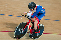 Picture by Alex Whitehead/SWpix.com - 24/03/2018 - Cycling - 2018 UCI Para-Cycling Track World Championships - Rio de Janeiro Municipal Velodrome, Barra da Tijuca, Brazil - Jaco van Gass of Great Britain competes in the Men's C4 Individual Pursuit qualifying.