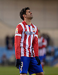 Atletico Madrid's Brazilian forward Diego da Silva Costa during the Spanish Copa del Rey (King's Cup) football match Atletico de Madrid vs Athletic de Bilbao at the Vicente Calderon stadium in Madrid on January 23, 2014.   PHOTOCALL3000/ DP