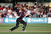 Tom Abell in batting action for Somerset during Essex Eagles vs Somerset, Vitality Blast T20 Cricket at The Cloudfm County Ground on 7th August 2019