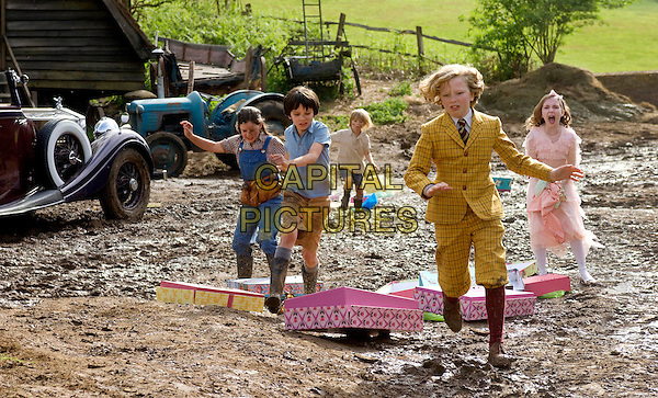 LIL WOODS, ASA BUTTERFIELD, OSCAR STEER, EROS VLAHOS & ROSIE TAYLOR-RITSON.in Nanny McPhee and the Big Bang (Nanny McPhee Returns).*Filmstill - Editorial Use Only*.CAP/FB.Supplied by Capital Pictures.