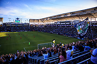 CARSON, CA - FEBRUARY 15: Los Angeles Galaxy and Toronto FC during a game between Toronto FC and Los Angeles Galaxy at Dignity Health Sports Park on February 15, 2020 in Carson, California.