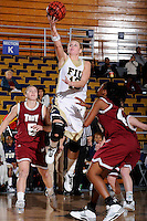 9 January 2010:  FIU's Monika Bosilj (13) lays up the ball for a basket in the second half as the Troy Trojans defeated the FIU Golden Panthers, 61-59, at the U.S. Century Bank Arena in Miami, Florida.