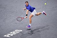 3rd November 2019, AccorHotels Arena, Bercy, Paris, France; Rolex Paris masters Tennis tournament, finals day;  Denis Shapovalov (Can)