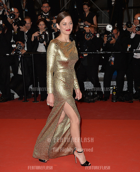 Actress Marion Cotillard at the gala premiere of &quot;From the Land of the Moon&quot; (&quot;Mal de Pierres&quot;) at the 69th Festival de Cannes.<br /> May 15, 2016  Cannes, France<br /> Picture: Paul Smith / Featureflash