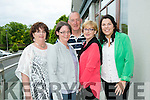 At the Launch of the  Kerry GAA & Horans Health Store  sponsorship event at the rose hotel on Monday l-r  Mary McElligott, Deirdre McElligott, Henry Molyneaux, Deirdre Molyneaux and Catherine McElligott