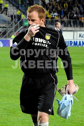 emmen voetbal fc twente - nac play  off erediivisie seizoen 2007-2008 29-04-2008  jelle ten rouwelaar.fotograaf Jan Kanning.