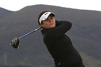 Eva Martinez Calavia (ESP) on the 2nd tee during Round 2 of the Women's Amateur Championship at Royal County Down Golf Club in Newcastle Co. Down on Wednesday 12th June 2019.<br /> Picture:  Thos Caffrey / www.golffile.ie