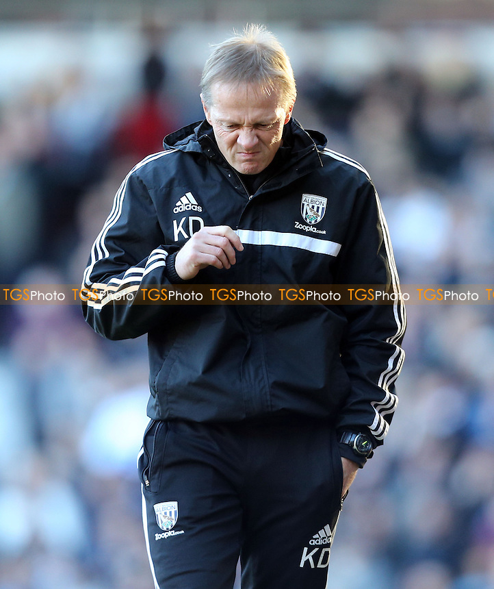 West Brom caretaker manager Keith Downing - West Ham United vs West Bromwich Albion, Barclays Premier League at Upton Park, West Ham - 28/12/13 - MANDATORY CREDIT: Rob Newell/TGSPHOTO - Self billing applies where appropriate - 0845 094 6026 - contact@tgsphoto.co.uk - NO UNPAID USE