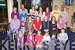 FAMILY REUNION: The Finnerty family, Listowel enjoying a great time at the a family get together at the Kingdom Greyhound Stadium on Friday...