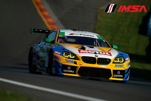 IMSA WeatherTech SportsCar Championship<br /> Sahlen's Six Hours of the Glen<br /> Watkins Glen International, Watkins Glen, NY USA<br /> Sunday 2 July 2017<br /> 96, BMW, BMW M6 GT3, GTD, Justin Marks, Jens Klingmann<br /> World Copyright: Michael L. Levitt/LAT Images