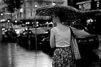 WILLIAM STREET IN THE RAIN