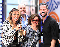 NEW YORK, NY-July 01: Rachel Platten and family perform on NBC's Today Show Citi Concert Series at Rockefeller Center in New York. NY July 01, 2016. Credit:RW/MediaPunch