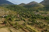 ALBANIA, Shkodra, small scale farming in albanian alps / ALBANIEN, Shkoder, kleinparzellige Landwirtschaft in den albanischen Alpen