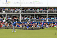 Bernd Wiesberger (AUT) putts on the 18th green during Sunday's Final Round of the Dubai Duty Free Irish Open 2019, held at Lahinch Golf Club, Lahinch, Ireland. 7th July 2019.<br /> Picture: Eoin Clarke | Golffile<br /> <br /> <br /> All photos usage must carry mandatory copyright credit (© Golffile | Eoin Clarke)