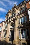 Commercial museum building in High Street of the Old Town of Hull, Yorkshire, England