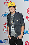 Austin Mahone attends the 'KIIS FM Jingle Ball 2013', held at the Staple center Los Angeles, Ca. December 6, 2013