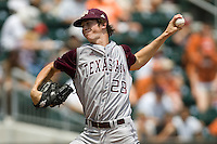 Hales, Ross 0389.jpg.  Big 12 Baseball game with Texas A&M Aggies at Texas Lonhorns  at UFCU Disch Falk Field on May 9th 2009 in Austin, Texas. Photo by Andrew Woolley.