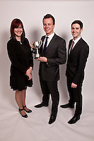 Alex Chapman of VHS Fletchers won The President's Cup. He's pictured with runners-up Paige Burley and Robert Northall