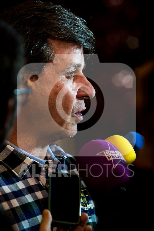 Cayetano Martinez de Irujo attends 'Nacido En Siria' (Born in Syria) premiere at Palafox cinema,  Madrid, Spain. January 11, 2017. (ALTERPHOTOS/Rodrigo Jimenez)