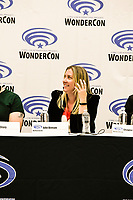 Julie Benson at Wondercon in Anaheim Ca. March 31, 2019