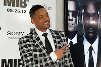 Will Smith at the Men In Black 3 premiere at The Ziegfeld Theater in New York City. May 23, 2012. © Kristin Driscoll/MediaPunch Inc.