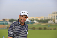 Padraig Harrington (IRL) on the 14th green during Thursday's Round 1 of the 2016 Portugal Masters held at the Oceanico Victoria Golf Course, Vilamoura, Algarve, Portugal. 19th October 2016.<br /> Picture: Eoin Clarke   Golffile<br /> <br /> <br /> All photos usage must carry mandatory copyright credit (© Golffile   Eoin Clarke)