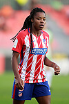 Atletico de Madrid's Ludmila Da Silva during UEFA Womens Champions League 2017/2018, 1/16 Final, 1st match. October 4,2017. (ALTERPHOTOS/Acero)