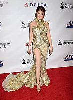 LOS ANGELES, CA - FEBRUARY 08: Hilary Roberts attends MusiCares Person of the Year honoring Dolly Parton at Los Angeles Convention Center on February 8, 2019 in Los Angeles, California.<br /> CAP/ROT/TM<br /> &copy;TM/ROT/Capital Pictures