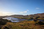 Ringfort overlooking Teelin Bay, near Carrick, Donegal, Ireland