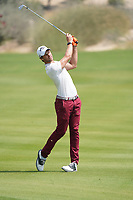 Thomas Detry (BEL) in action during the third round of the Commercial Bank Qatar Masters 2020, Education City Golf Club , Doha, Qatar. 07/03/2020<br /> Picture: Golffile | Phil Inglis<br /> <br /> <br /> All photo usage must carry mandatory copyright credit (© Golffile | Phil Inglis)