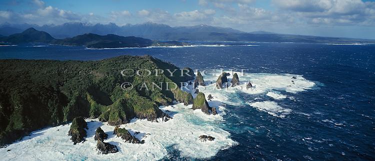 Dusky Sound. Fiordland National Park. New Zealand.