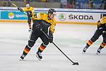 15.04.2018, EnergieVerbund Arena, Dresden, GER, Euro Hockey Challenge, Deutschland vs. Slowakei, im Bild<br /> <br /> <br /> Bernhard Ebner (#67, Deutschland),<br /> <br /> Foto &copy; nordphoto / Dostmann