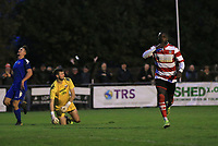 Dan Hector of Kingstonian celebrates scoring during Kingstonian vs Lewes, BetVictor League Premier Division Football at King George's Field on 16th November 2019